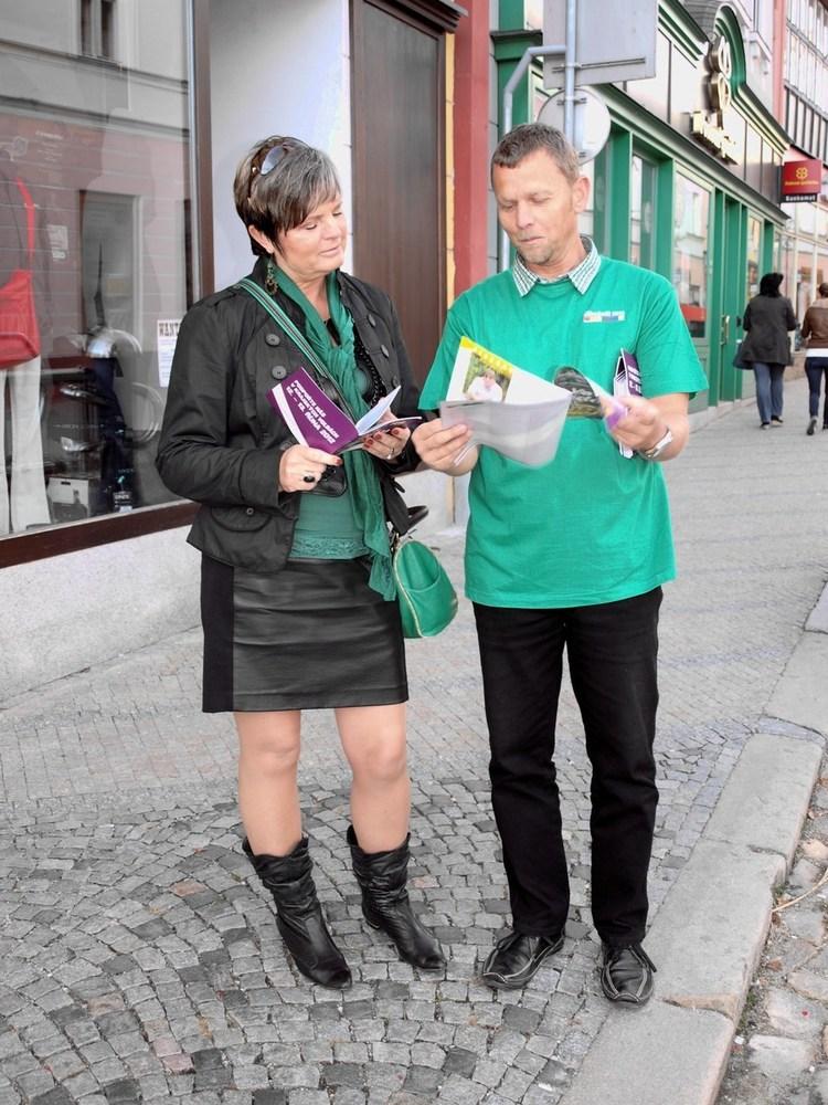 Obrázek kčlánku Jindřichohradečtí kandidáti mezi občany