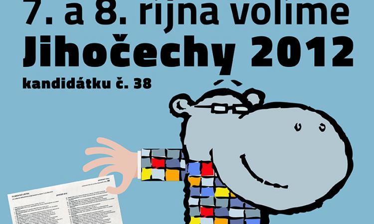 Obrázek kčlánku Jednání volebního štábu hnutí Jihočeši 2012
