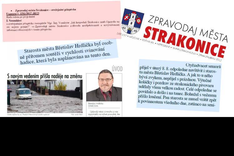 Obrázek kčlánku Další porušování zákona vedením města Strakonice!
