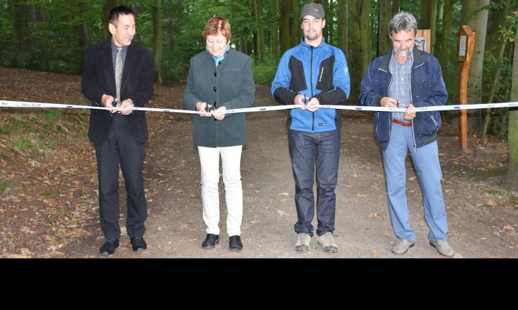Obrázek kčlánku Sportovní stezka vPísku byla po modernizaci opět otevřena