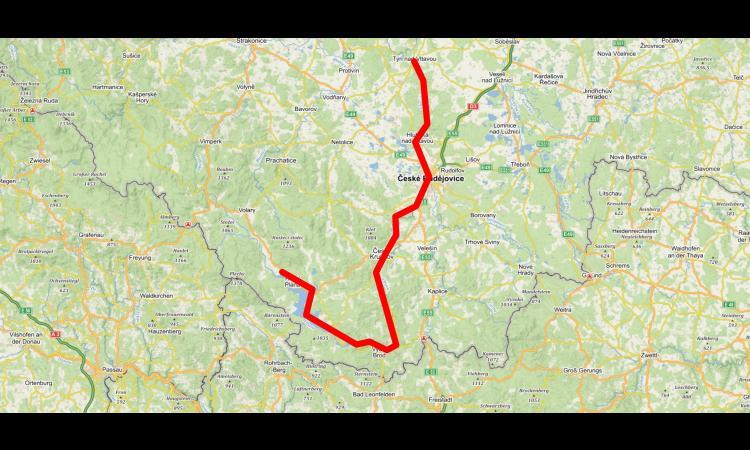 Obrázek kčlánku Vltavská cyklostezka bude měřit téměř 200 kilometrů